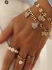 Pierścionek złoty z perłami PPE0031 rozmiar 12