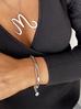 Bransoletka srebrny łańcuch ze stali szlachetnej BSA0001