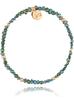 Bransoletka z zielonym kryształkami BTW0160
