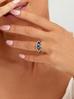 Pierścionek srebrny ze stali szlachetnej PSA0139 Rozmiar 15