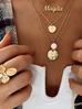 Pierścionek złoty kwiat z perełkami PPE0019 rozmiar 11