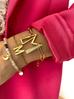 Bransoletka złota z literką M BAT0105
