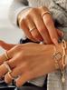 Bransoletka złoty łańcuch BRG0116