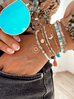 Bransoletka z masy perłowej ze słonecznikiem BMMH3870