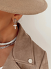 Naszyjnik srebrna żmijka NRG0161