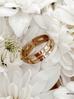 Pierścionek złoty ze stali szlachetnej PSA0120 Rozmiar 12