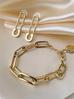 Kolczyki złote agrafki KRG0524