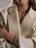 Bransoletka srebrna z czarnymi kryształkami BSS0020