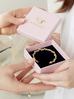 Bransoletka złota obręcz z perełkami BSS0016