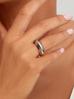 Pierścionek srebrny ze stali szlachetnej PSA0104 rozmiar 15