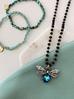 Bransoletka turkusowa z kryształkami BTW0229