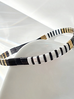 Bransoletka elastyczna czarna BLB0005