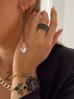 Kolczyki z kryształowymi żukami długie KMI0114