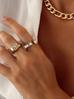 Naszyjnik złoty łańcuch gruby NRG0173