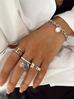 Pierścionek srebrny ze stali szlachetnej PSA0035 Rozmiar 15
