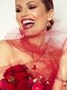 Bransoletka czerwonym żuk z kryształkami BMI0037