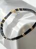 Bransoletka elastyczna czarna BLB0003