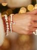 Pierścionek złoty z perłami PPE0004 rozmiar 12