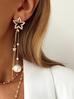 Naszyjnik różaniec Olivia z perełek i złotych koralików NOA0004