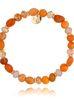 Bransoletka pomarańczowa BTW0425