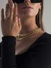 Naszyjnik złoty łańcuch  gruby NRG0138