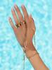 Pierścionek złoty ze stali szlachetnej z literką X PSA0093
