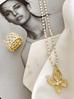 Pierścionek złoty z przezroczystymi kryształkami PRG0116  rozmiar 10