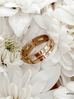 Pierścionek złoty ze stali szlachetnej PSA0055 Rozmiar 15