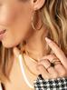 Pierścionek złoty ze stali szlachetnej PSA0084 rozmiar 17