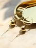 Kolczyki złote wiszące KRG0329