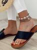 Bransoletka na nogę ze srebrnymi muszlami Ocean Vibes BNOV0013