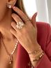 Pierścionek różowe złoto PRG0165