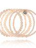 Zestaw bransoletek brzoskwiniowy Blossom BBL0096