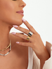 Pierścionek srebrny ze stali szlachetnej PSA0102 rozmiar 17