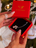 Broszka srebrna z perłami i cyrkonią BRPE0005