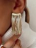 Kolczyki złote łańcuszki KRG0535