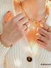 Pierścionek złoty ze stali szlachetnej PSA0018 Rozmiar 18
