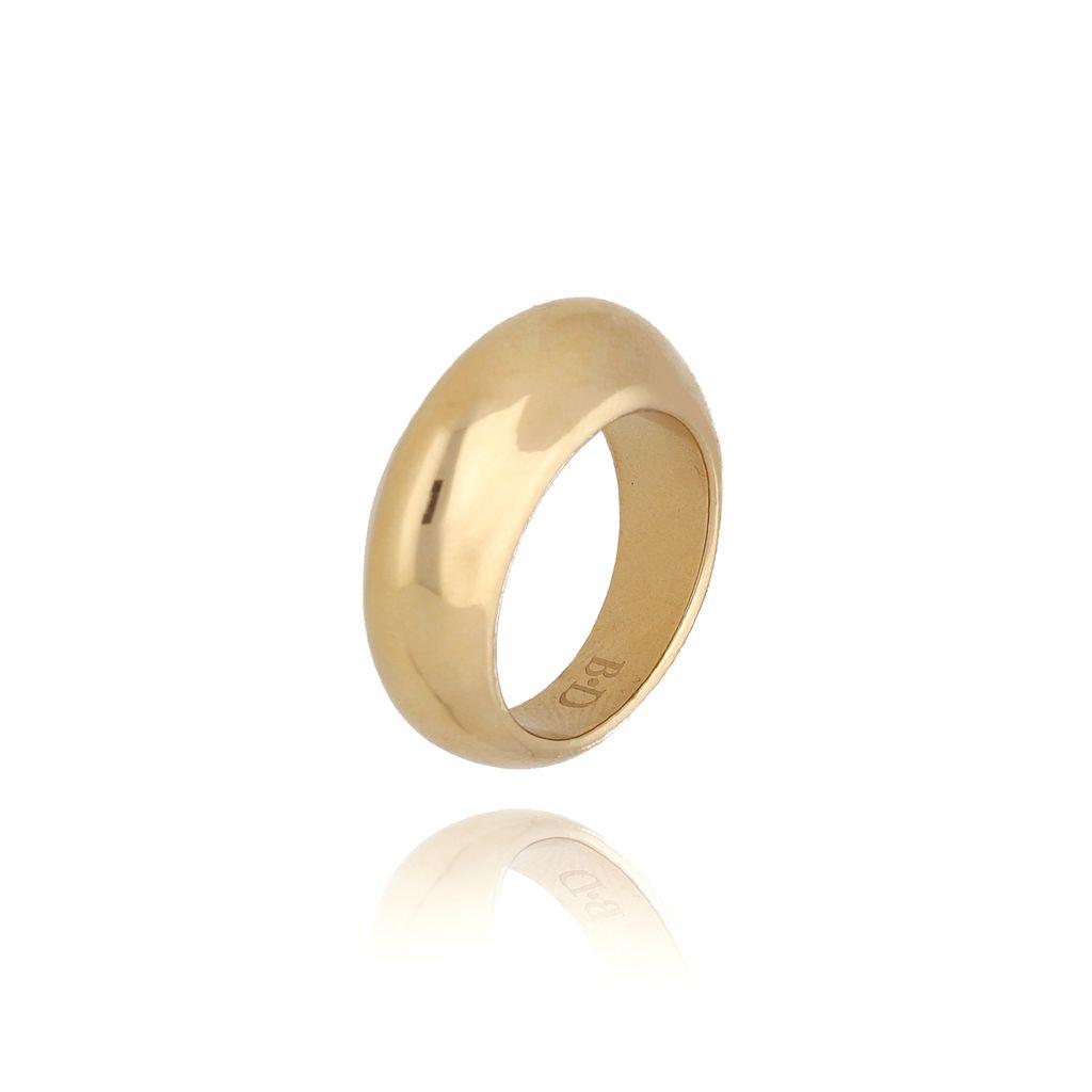 Pierścionek złoty ze stali szlachetnej PSA0105 rozmiar 15