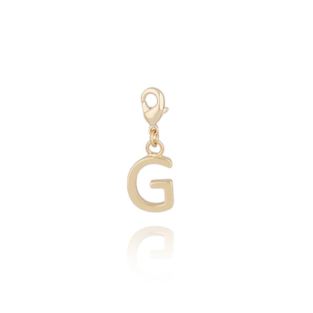 Charms złoty literką G NAT0173