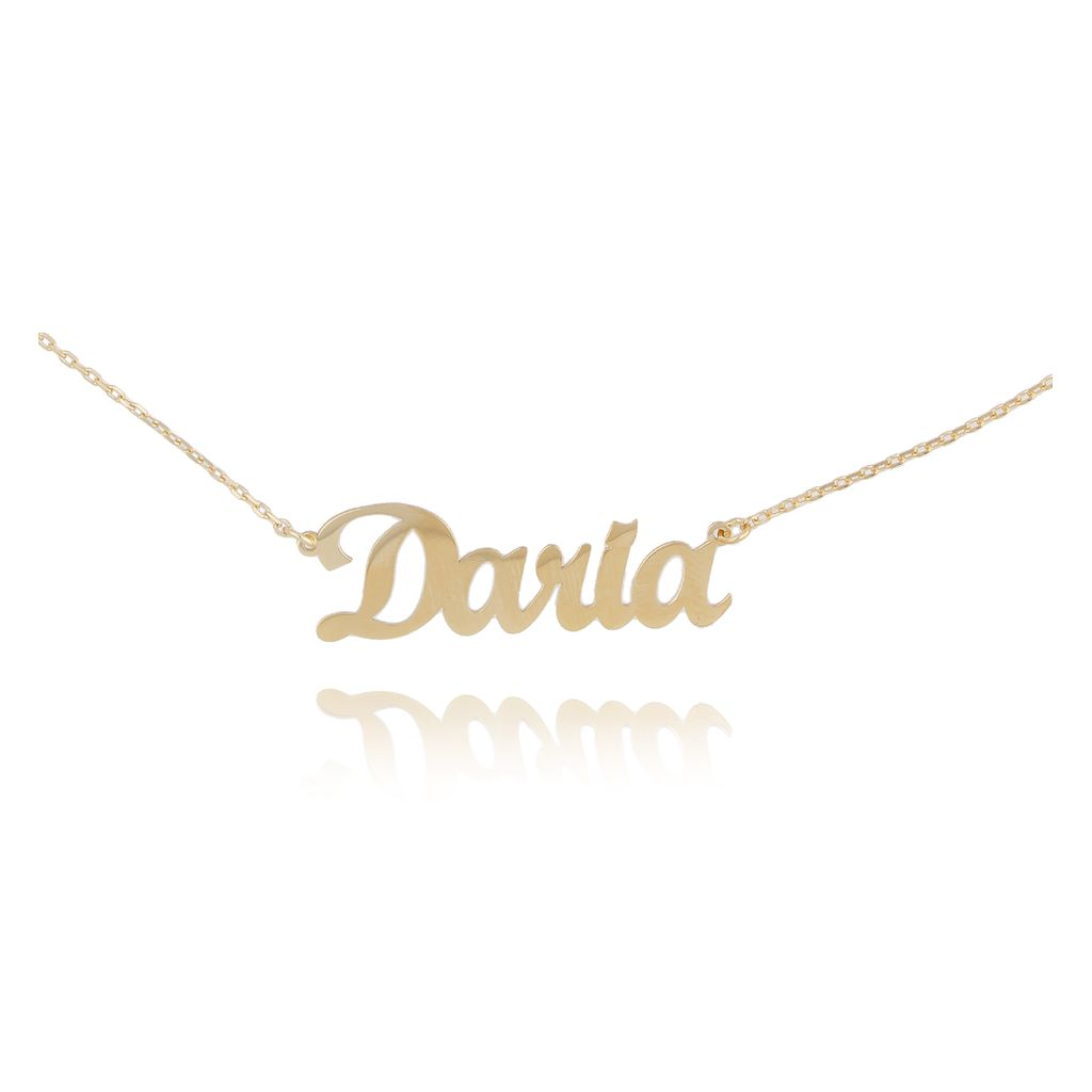 Naszyjnik srebrny pozłacany DARIA NAT0135