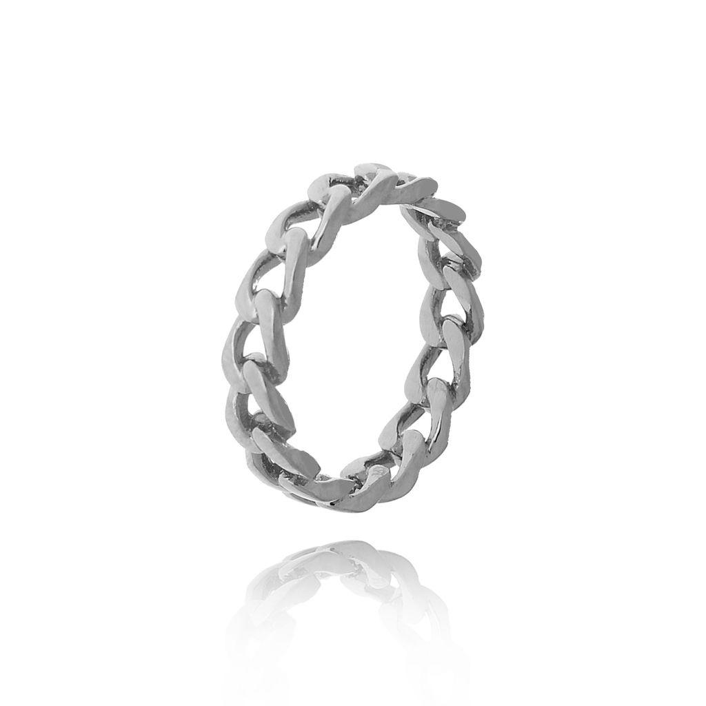 Pierścionek srebrny ze stali szlachetnej PSA0132 Rozmiar 15