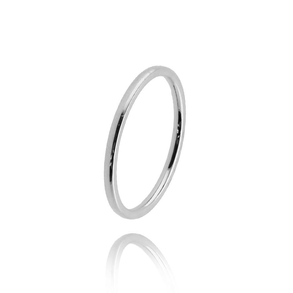 Pierścionek srebrny ze stali szlachetnej PSA0106 rozmiar 12