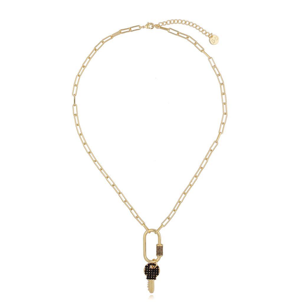 Naszyjnik złoty z kluczem NRG0250