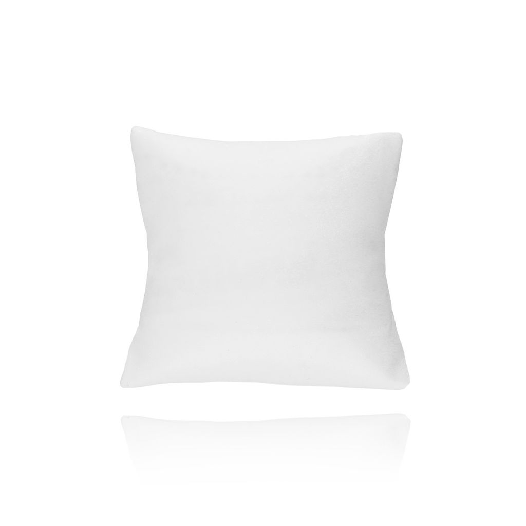Poduszka skórzana biała - mała OPA0181