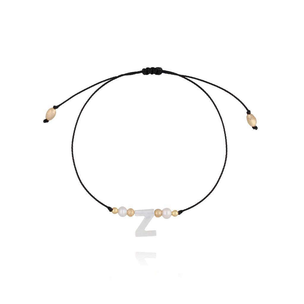 Bransoletka na sznurku z literką Z BAT0041