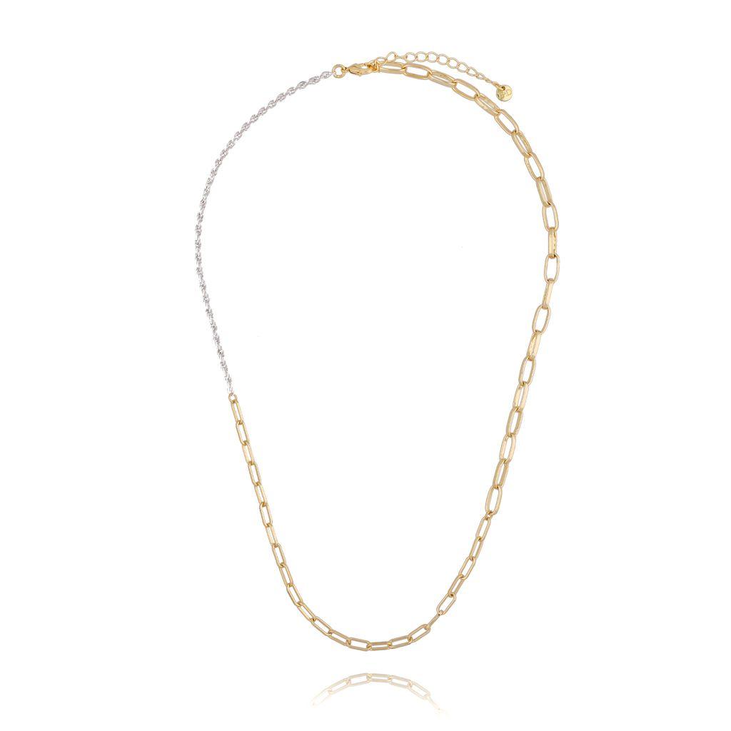 Naszyjnik złoty łańcuch NSL0025