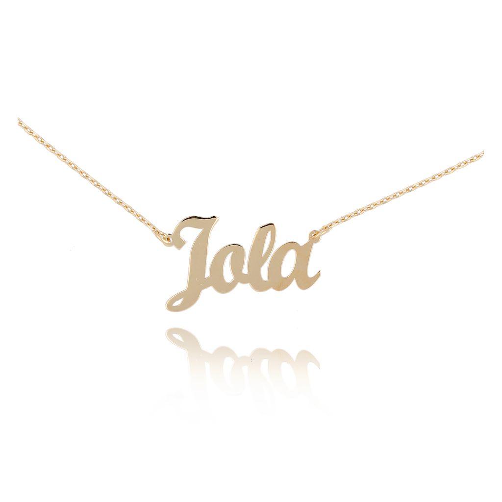 Naszyjnik pozłacany JOLA NAT0229