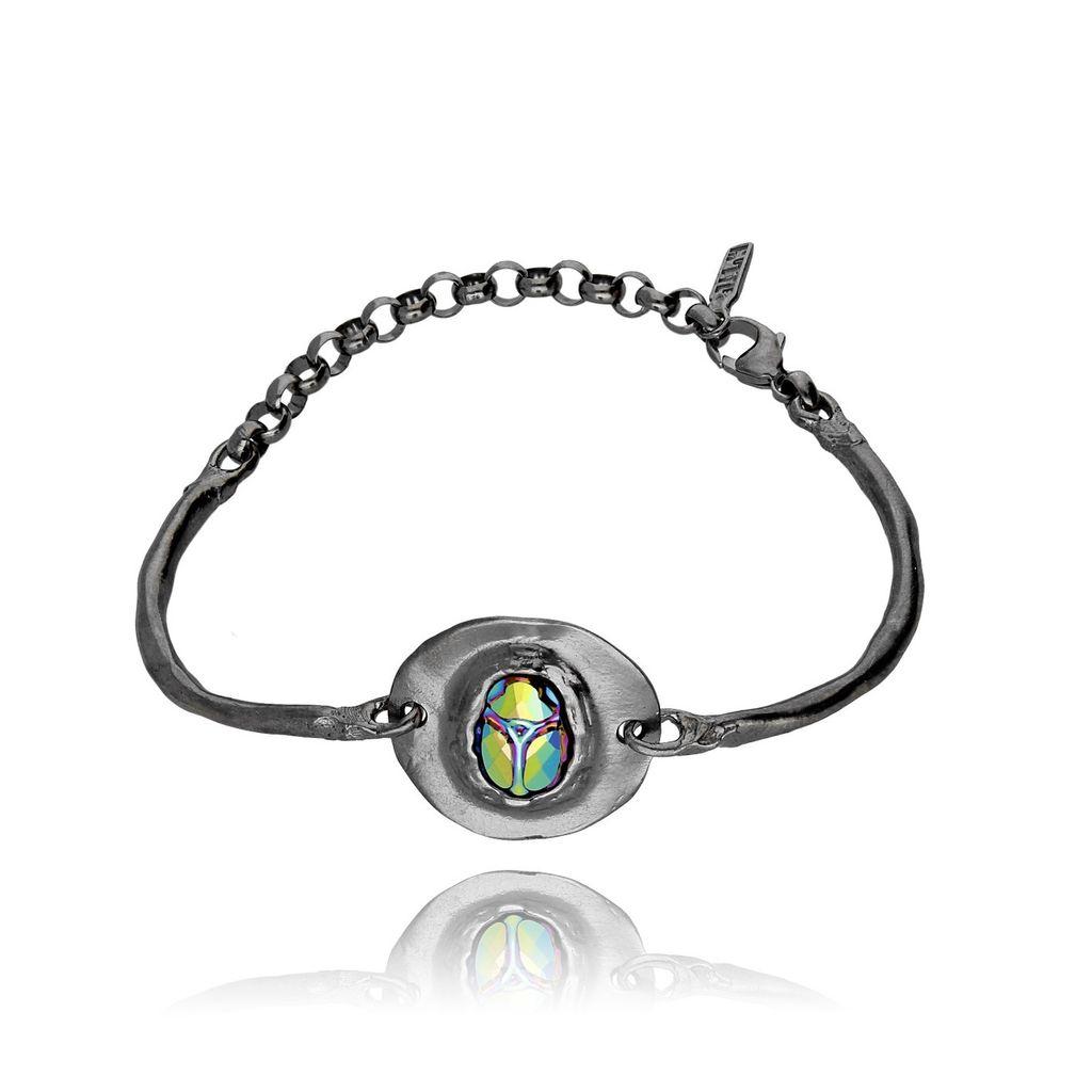 Bransoletka MOTYLE Nefertiti z kryształkami BMO0041
