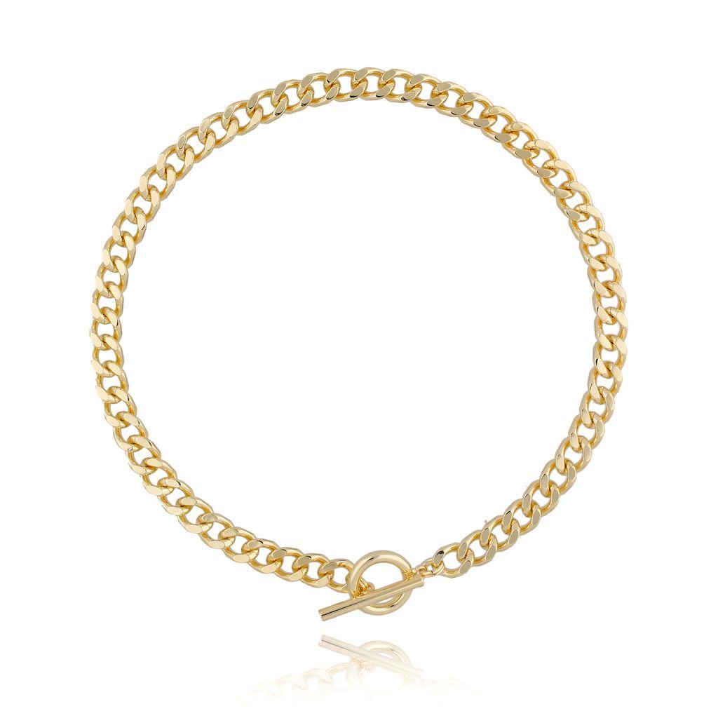 Naszyjnik złoty łańcuch NRG0234