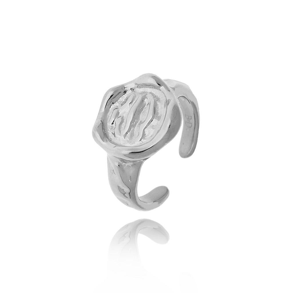 Pierścionek srebrny ze stali szlachetnej PSA0141  Rozmiar 15